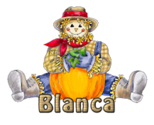 Blanca - AutumnScarecrowSitting