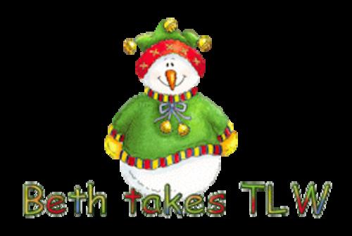 Beth takes TLW - ChristmasJugler