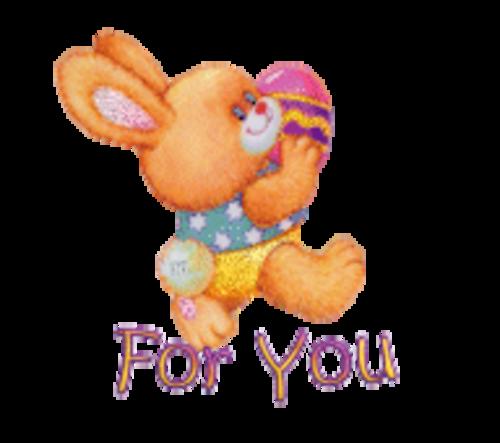For You - EasterBunnyWithEgg16