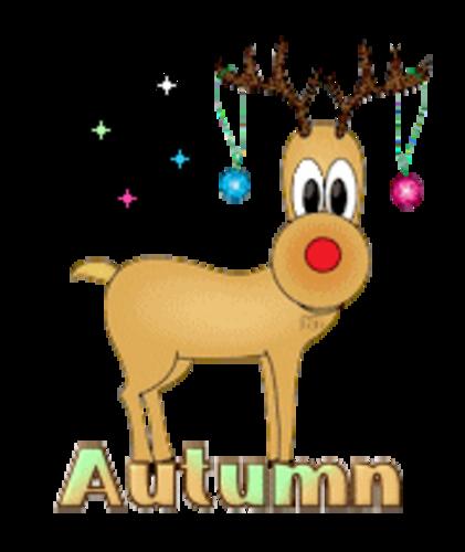Autumn - ChristmasReindeer