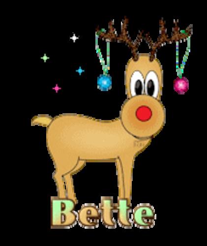 Bette - ChristmasReindeer