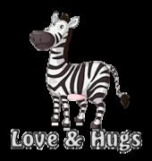 Love & Hugs - DancingZebra