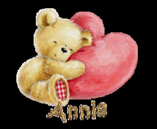 Annie - ValentineBear2016