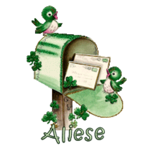 Aliese - StPatrickMailbox16