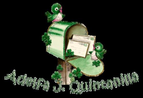 Adelfa J Quintanilla - StPatrickMailbox16