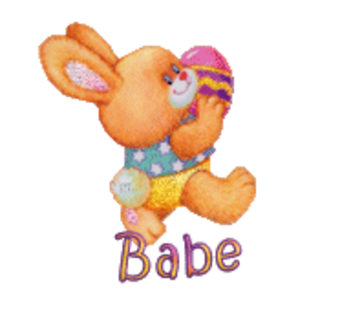 Babe - EasterBunnyWithEgg16