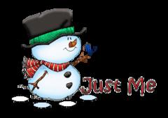Just Me - Snowman&Bird