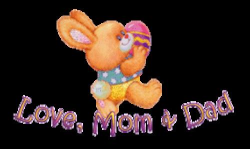 Love, Mom & Dad - EasterBunnyWithEgg16