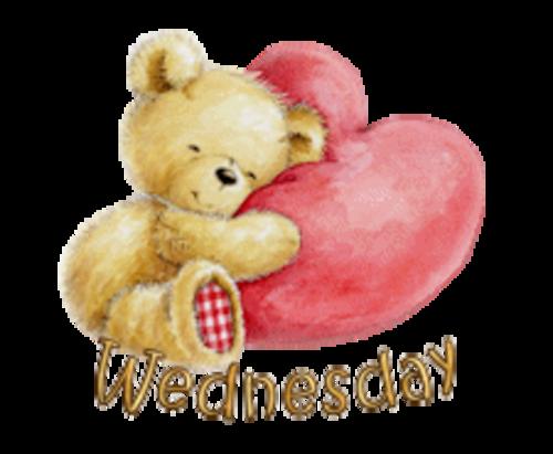 DOTW Wednesday - ValentineBear2016