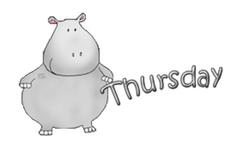 DOTW Thursday - CuteHippo2018