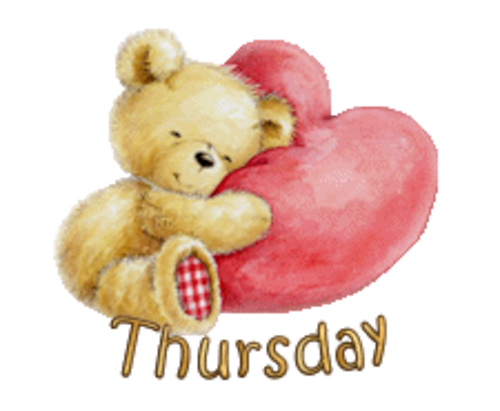 DOTW Thursday - ValentineBear2016