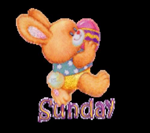 DOTW Sunday - EasterBunnyWithEgg16