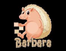 Barbara - CutePorcupine