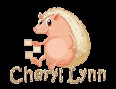 Cheryl Lynn - CutePorcupine