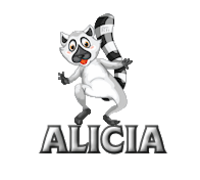 Alicia - RaccoonStepOnName