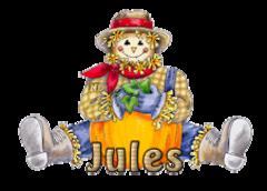 Jules - AutumnScarecrowSitting