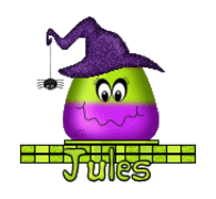 Jules - CandyCornWitch