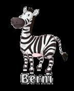 Berni - DancingZebra