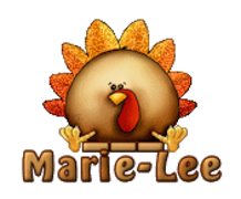 Marie-Lee - ThanksgivingCuteTurkey