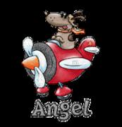 Angel - DogFlyingPlane