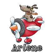 Arlene - DogFlyingPlane