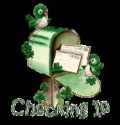 Checking In - StPatrickMailbox16