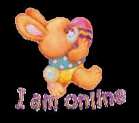 I am online - EasterBunnyWithEgg16