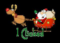 I Clicked - SantaSleigh