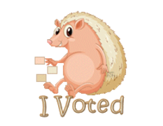 I Voted - CutePorcupine