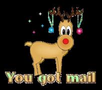 You got mail - ChristmasReindeer