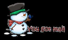 You got mail - Snowman&Bird