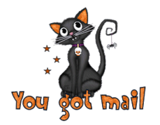 You got mail - HalloweenKittySitting