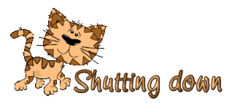 Shutting down - CuteCatWalking