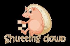 Shutting down - CutePorcupine