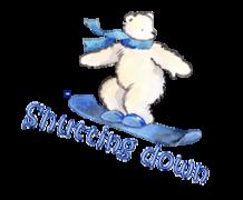 Shutting down - SnowboardingPolarBear