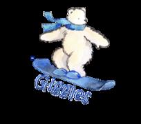 Giggles - SnowboardingPolarBear