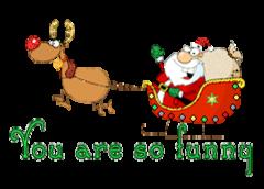 You are so funny - SantaSleigh