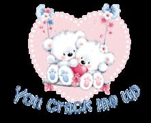 You crack me up - ValentineBearsCouple2016