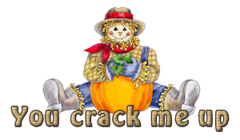 You crack me up - AutumnScarecrowSitting