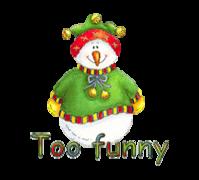 Too funny - ChristmasJugler