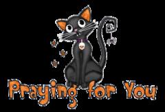 Praying for You - HalloweenKittySitting