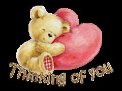Thinking of you - ValentineBear2016