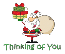 Thinking of You - SantaDeliveringGifts