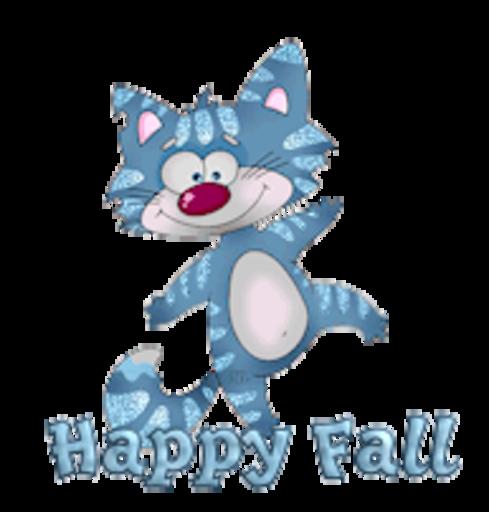Happy Fall - DancingCat