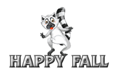 Happy Fall - RaccoonStepOnName