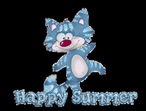 Happy Summer - DancingCat