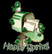 Happy Spring - StPatrickMailbox16