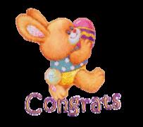 Congrats - EasterBunnyWithEgg16