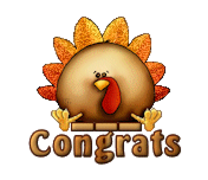 Congrats - ThanksgivingCuteTurkey