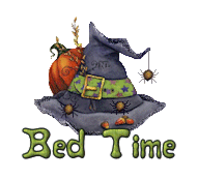 Bed Time - CuteWitchesHat